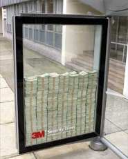 Creative Advertising - 3M Safety Glass