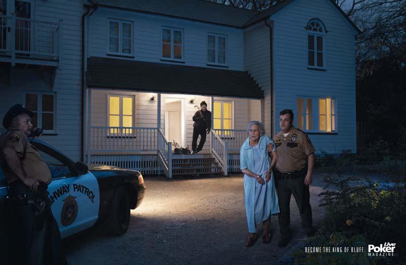 Robber Live Poker Magazine Ad