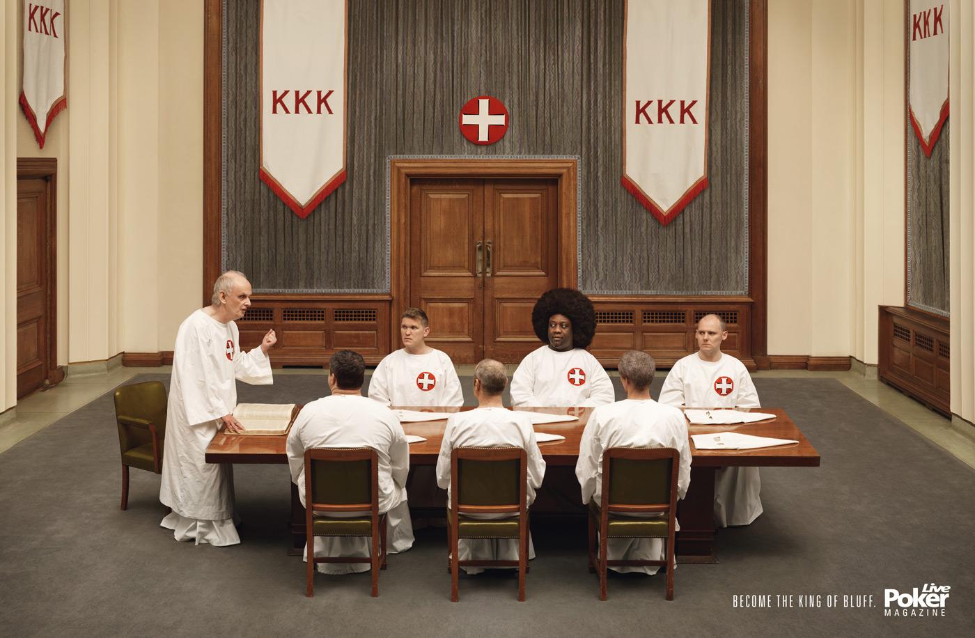 KKK Live Poker Magazine Ad
