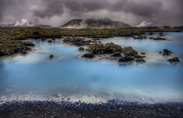 HDR - Blue Lagoon - Stuck in Customs