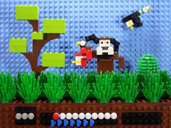 Lego NES - Duck Hunt