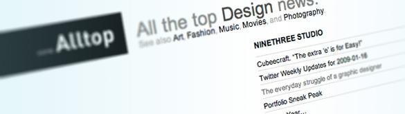 ninethreestudio.com makes the alltop cut