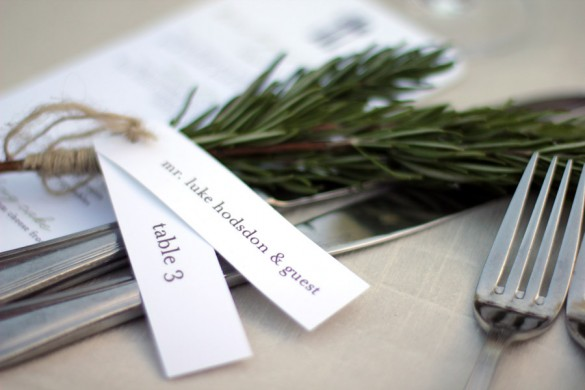 Churm-Danielson wedding table placements