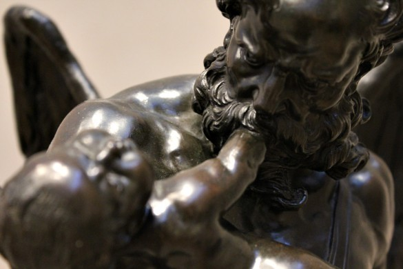 The J. Paul Getty Trust - Bronze Statue Biting Baby Hand