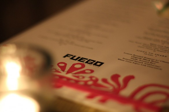 Fuego Long Beach Menu