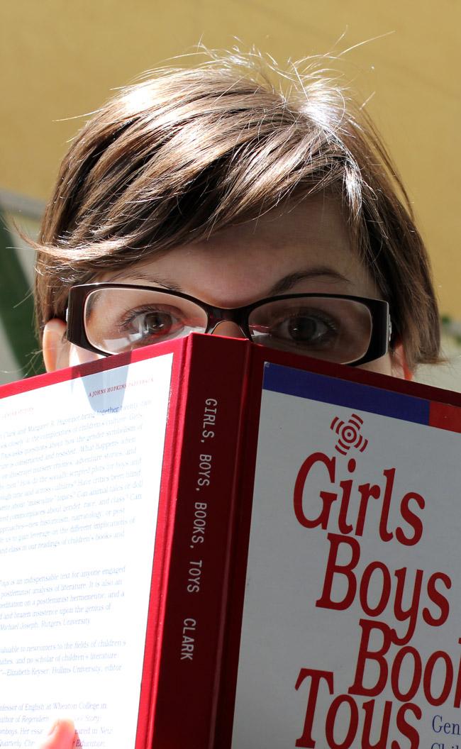 Kristen Schott with Boys Girls Books Toys