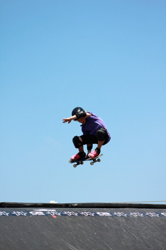 Maloof Money Cup skateboarding vert ramp 11 year old