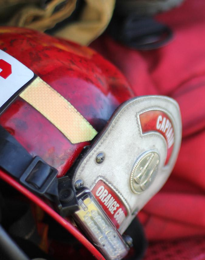 Orange County Firefighter Helmet