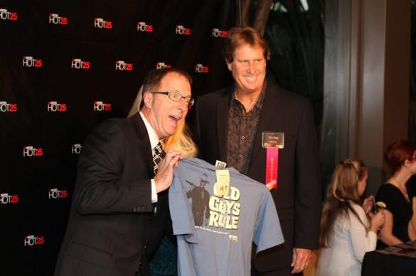 Steve Churm with Don Craig at the OCMETRO Hot 25 2010