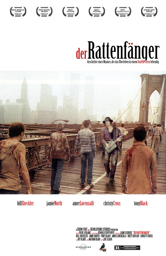 der Rattenfanger mock movie poster